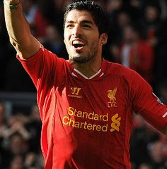 Luis Suarez showed off every skill in his extensive repertoire to inspire Liverpool to a 4-1 victory over West Bromwich Albion in the Barclays Premier League on Saturday.