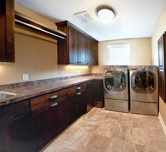 Laundry room layout.