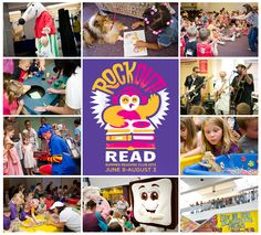 Rock Out! Read. Come to our Summer Reading Club Kick-Off at Main Library on Saturday, June 8 from 10 a.m.-12 p.m. Come dance with The Shazzbots!, meet Curious George, make crafts, sign up for Summer Reading Club and have fun! Stay for PBJ & Jazz in Topiary Park. http://www.columbuslibrary.org/summerreadingclub