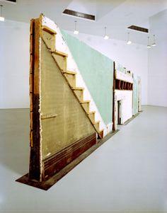 Gordon Matta-Clark #art #sculpture #contemporary