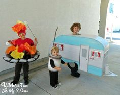 DIY CaMpEr COSTUMES for #halloween #upcycle
