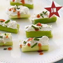 Buffalo-Style Stuffed Celery 1 point plus