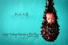 Baby hammock.. fun for newborn photos