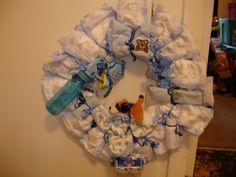Diaper Wreaths= $35