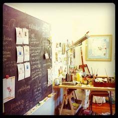 sara ahearn's studio
