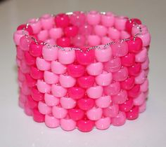 Kandi Layers with pony beads - must try this!