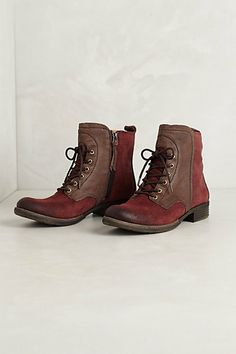 cordocan mountaineer boots / anthropologie