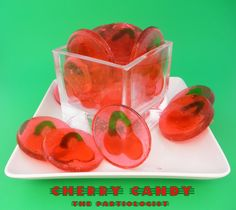 The Partiologist: National Cherry Month! hard candy recipe
