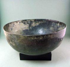 Greek silvered bronze bowl, circa 400BC-100BC