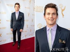 Matt Bomer And Suit Bring The Sexy To The 2014 College Television Awards Gala