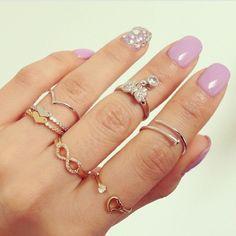 ∗ rings on rings on rings ∗