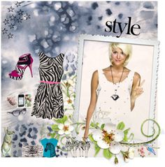 Currently in animal print mode... especially zebras. Dash of pink is lovely!