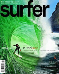 April 2011. #SURFERPhotos