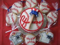 N.Y. Yankees Cake
