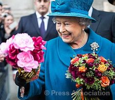 The Queen visits the Royal Commonwealth Society