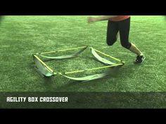 Agility Box Crossover - Stops and Starts | Nike Hockey Training