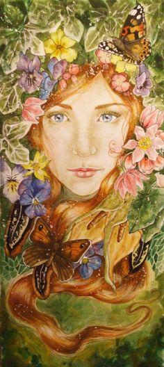 """Spring Equinox:  """"Spring Equinox,"""" by Hannyvicar, at deviantART."""