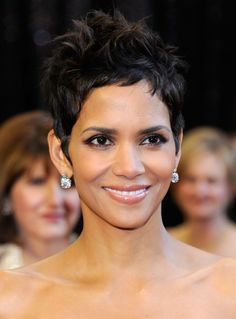 Halle Berry, the first and, as of 2014, the only woman of African-American descent to win an Oscar for a leading role in Monsters Ball.