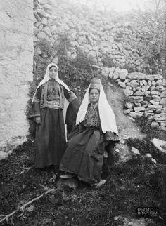 Bethlehem women. Bethlehem, Palestine. 1898-1914. Photograph: Matson Collection