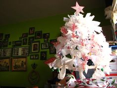 Upcycled Umbrella Tree from @jessica wilson for CRAFT