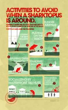 Move over Sharknado. It's Sharktopus awareness month.