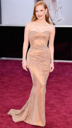 Jessica Chastain in Armani Privé!