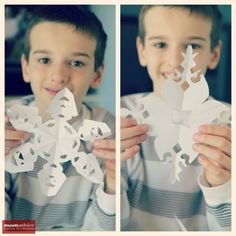 The Best Paper Snowflake Templates on the Web | The Motherload