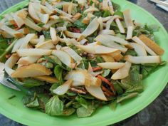 cleanses, walnut salad, fitness, dressings, pears