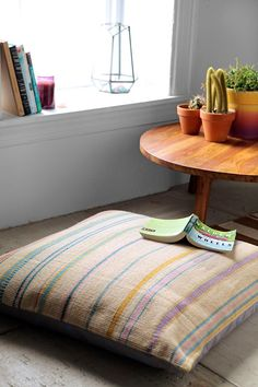 Lena Corwin X UO Ladder Floor Pillow - Urban Outfitters