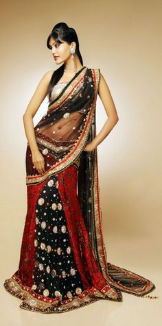 Stylish Bengali Saree Fashion