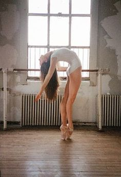 stunning strength and balance