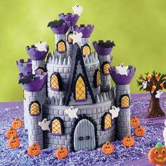dungeon cake, cake tutorial, beauti cake, haunt castl, boy birthday cakes, halloween food, halloween cakes, castle cakes, halloween castl