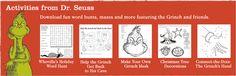 Grinch activities for kids