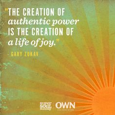 How do you live authentically?
