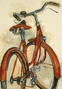 Bicycle Paintings: Taliah Lempert