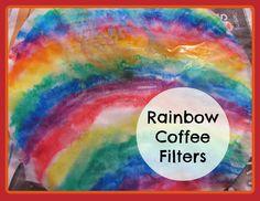 The Chocolate Muffin Tree: Rainbow Coffee Filters