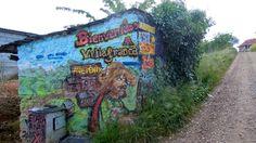 Mural near Villafranca del Bierzo Spain, Camino de Santiago