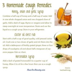 3 Homemade Cough Remedies