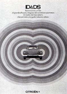 1960s Advertising - Poster - Citröen Italia 1 (Italy)