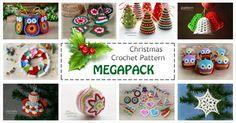 Special Offer -  Christmas Crochet Pattern MEGAPACK!