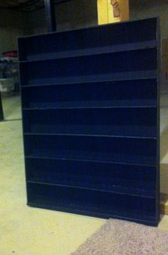shelving for my nail polish collection.  made from foam board. @Courtney Wilkerson