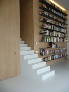 Library @ home . wall of books!