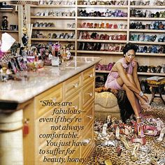 Kimora Lee Simmons' closet