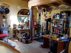 Art Studio interior picasa web, art space, art studios, studio space, dream studio, house interiors, web album, cob houses, studio idea