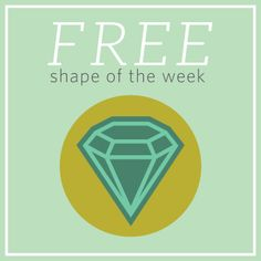 FREE Shape of the Week from Silhouette :: Gem Card