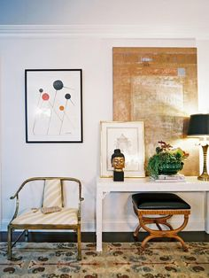 Go Off-Center - How To Create an Art Gallery Wall on HGTV