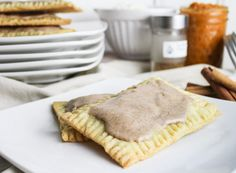 DIY Pop Tarts recipe. Use scratch dough, or the puff pastry short cut.