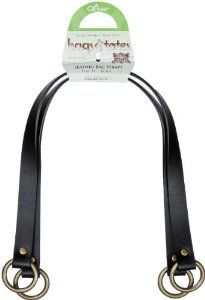 Clover 24-Inch Flat Style Leather Bag Straps, Black, 2 Per Pack --- http://www.pinterest.com.luvit.in/5iv