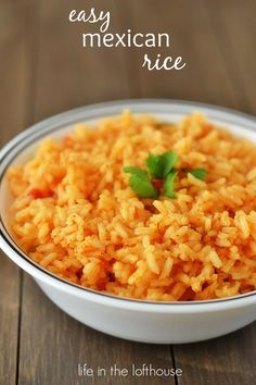 rice recipes, easi mexican, easy mexican rice, gluten free rice dishes, beef, gluten free mexican rice, side dish, spanish rice, life in the lofthouse