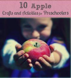 10 Apple Crafts and Activities for Preschoolers